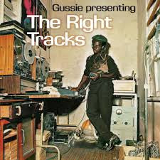 GUSSIE PRESENTING THE RIGHT TRACKS-VARIOUS ARTISTS LP EX COVER EX
