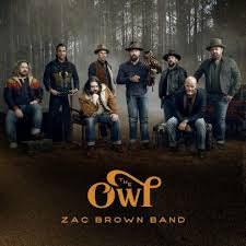 BROWN ZAC BAND-THE OWL CD *NEW*