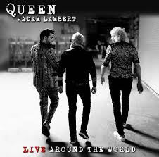 QUEEN + ADAM LAMBERT-LIVE AROUND THE WORLD CD+BLURAY *NEW*""