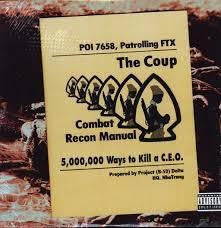 "COUP THE-5,000,000 WAYS TO KILL A C.E.O. 12"" NM COVER VG+"