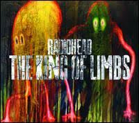"RADIOHEAD-KING OF LIMBS 2X10""+CD ""NEWSPAPER EDITION"" CLEAR VINYL VG+ COVER VG"