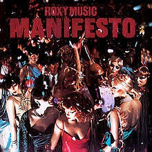 ROXY MUSIC-MANIFESTO LP VG+ COVER VG+