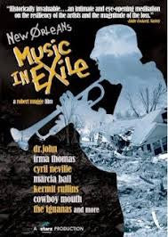 NEW ORLEANS MUSIC IN EXILE-DVD VG+