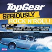 TOP GEAR-SERIOUSLY ROCK N ROLL NZ EDITION 2CD VG