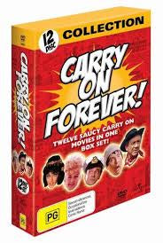 CARRY ON FOREVER-12 DVD  VG