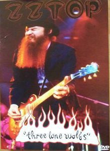 ZZ TOP-THREE LONE WOLFS DVD REGION 1 G