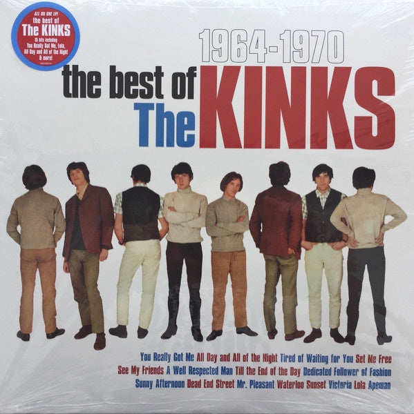 KINKS-THE BEST OF THE KINKS 1964-1970 LP *NEW*