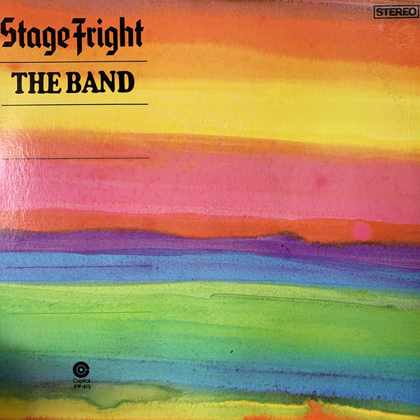 BAND THE-STAGE FRIGHT LP NM COVER VG+