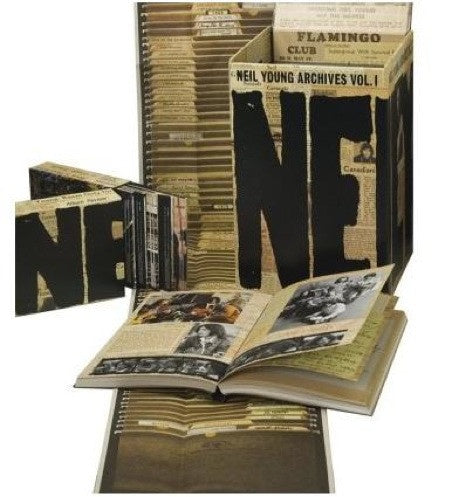 YOUNG NEIL-NEIL YOUNG ARCHIVES VOL 1 (1963-1972) 10DVD (AUDIO) +2CD EX
