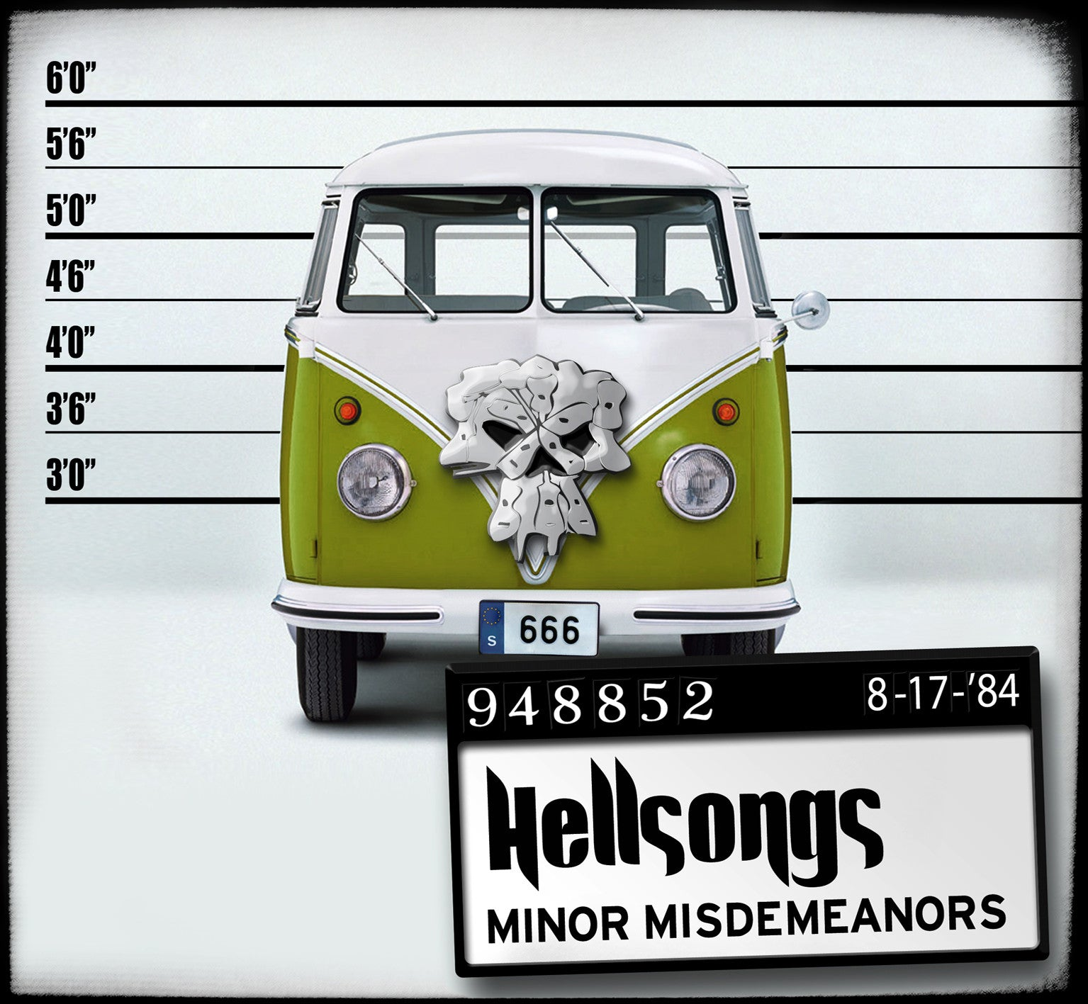 HELLSONGS-MINOR MISDEMEANORS LP *NEW*