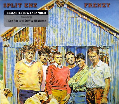 SPLIT ENZ-FRENZY CD G