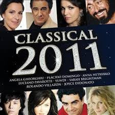 CLASSICAL 2011-VARIOUS ARTISTS 2CD  VG