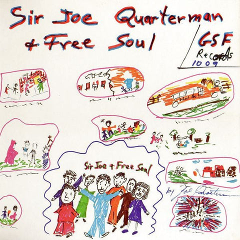 QUARTERMAN SIR JOE & FREE SOUL-SIR JOE QUARTERMAN & FREE SOUL LP *NEW*