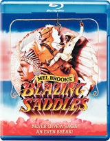 BLAZING SADDLES BLURAY VG