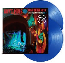 GOVT MULE-BRING ON THE MUSIC VOL. 2 BLUE VINYL 2LP *NEW*""