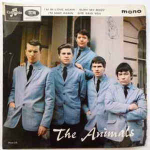 "ANIMALS THE-THE ANIMALS 7"" EP VG COVER VG"