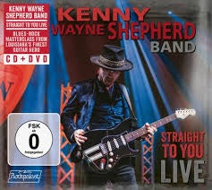 SHEPHERD KENNY WAYNE BAND-STRAIGHT TO YOU LIVE CD+DVD *NEW*