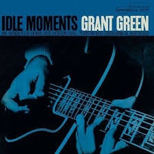 GREEN GRANT-IDLE MOMENTS LP VG+ COVER EX