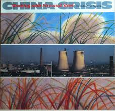 CHINA CRISIS-WORKING WITH FIRE & STEEL LP VG COVER VG+