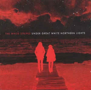 WHITE STRIPES THE-UNDER GREAT WHITE NORTHERN LIGHTS CD + DVD VG