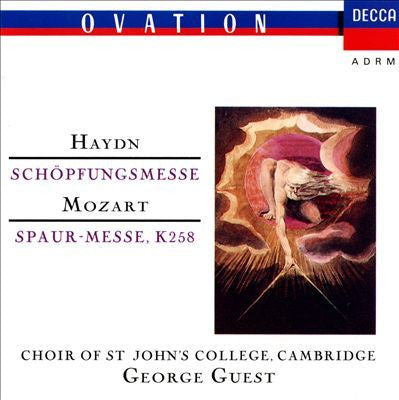 HAYDN AND MOZART-MASSES ST JOHNS GEORGE GUEST CD G