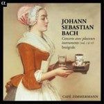 BACH J S-COMPLETE CONCERTOS FOR VARIOUS INSTRUMENTS CAFE ZIMMERMANN  6CD *NEW*