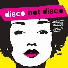 DISCO NOT DISCO-VARIOUS ARTISTS CD *NEW*