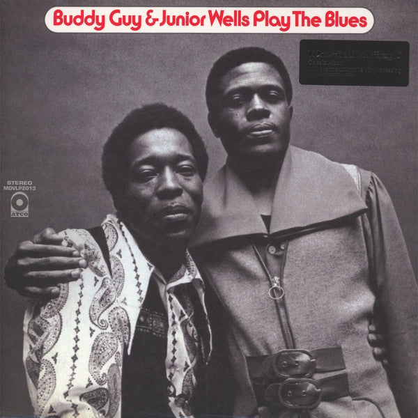 GUY BUDDY & JUNIOR WELLS-PLAY THE BLUES LP *NEW*