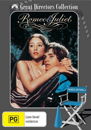 ROMEO AND JULIET DVD VG
