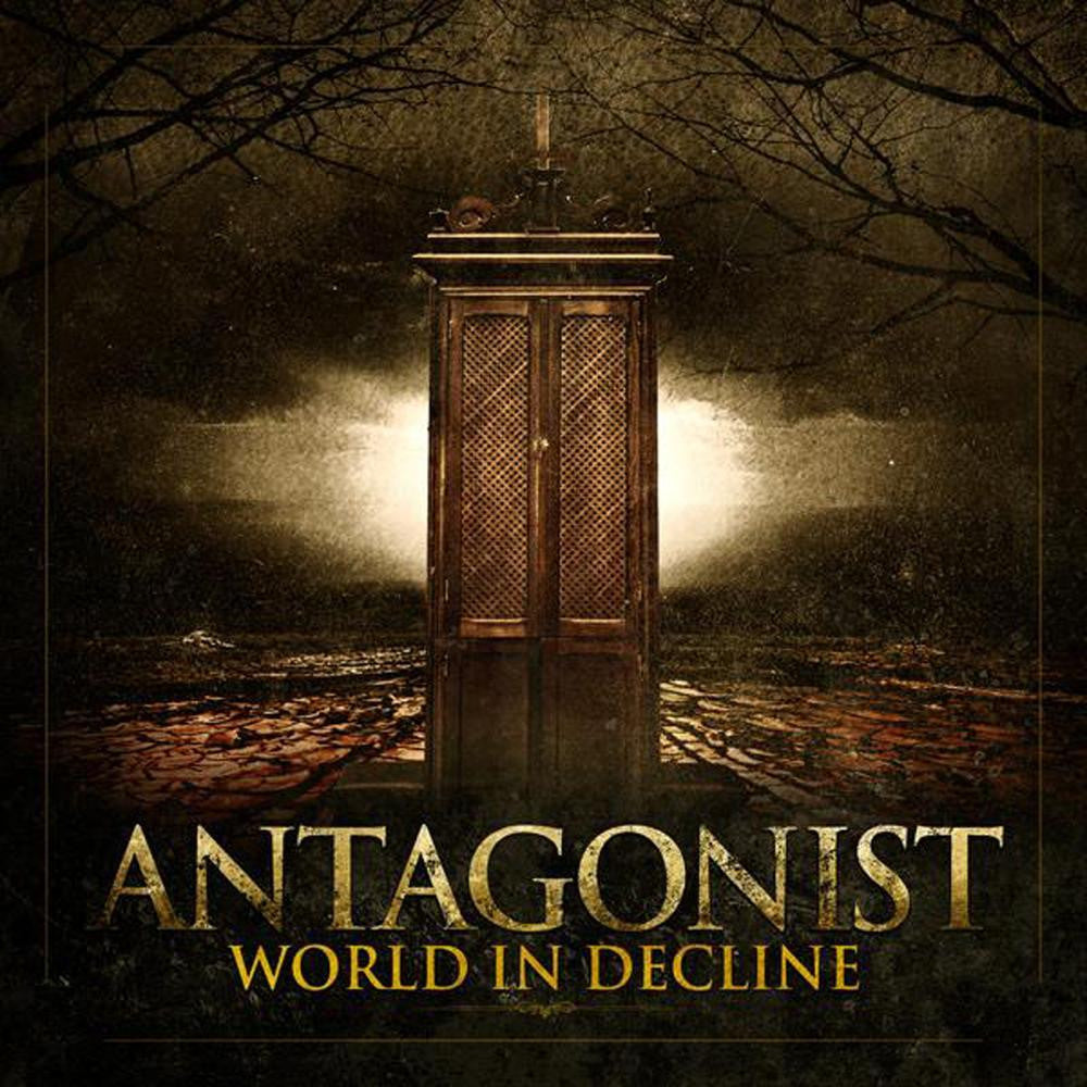 ANTAGONIST-WORLD IN DECLINE CD VG