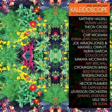 KALEIDOSCOPE NEW SPIRITS KNOWN & UNKNOWN-VARIOUS ARTISTS 3LP + 7'' *NEW*