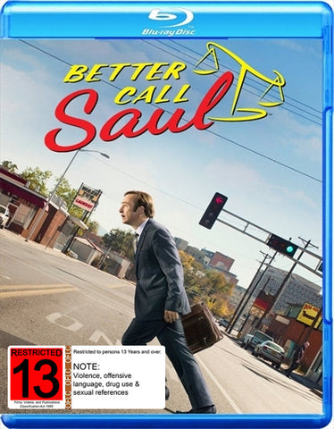 BETTER CALL SAUL SEASON TWO BLURAY 4 DISCS VG