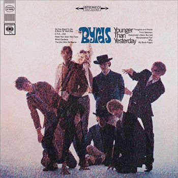BYRDS THE-YOUNGER THAN YESTERDAY LP EX COVER VG+