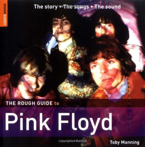 THE ROUGH GUIDE TO PINK FLOYD-TOBY MANNING BOOK VG