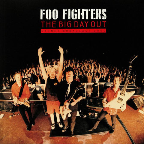 FOO FIGHTERS-THE BIG DAY OUT SYDNEY BROADCAST 2000 2LP *NEW*