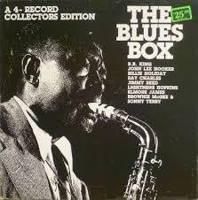 BLUES BOX-VARIOUS ARTISTS 4LP NM COVER VG