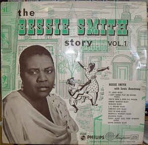 SMITH BESSIE (WITH LOUIS ARMSTRONG)-THE BESSIE SMITH STORY VOL 1 LP VG