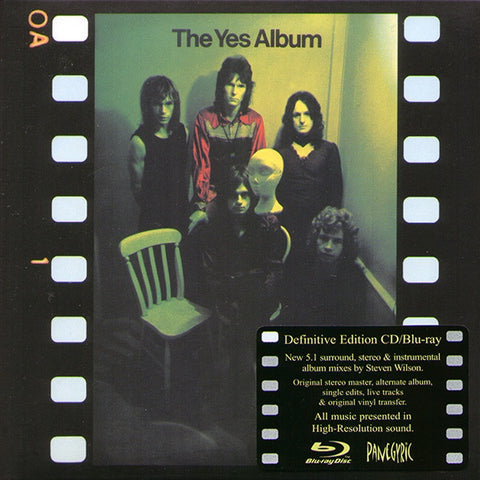 YES-THE YES ALBUM DEFINITIVE EDITION CD + BLURAY *NEW*