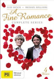 A FINE ROMANCE-THE COMPLETE SERIES 4DVD VG