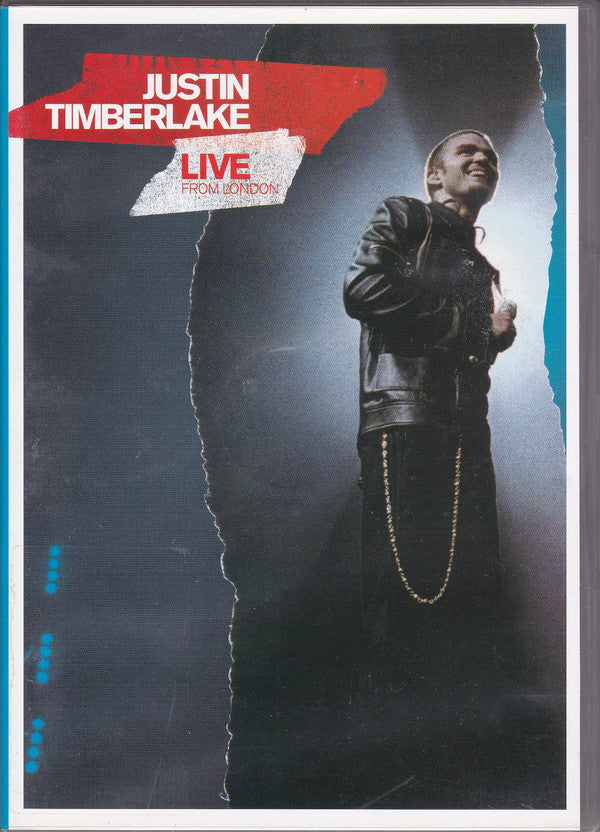 TIMBERLAKE JUSTIN-LIVE FROM LONDON DVD+CD VG