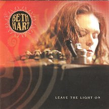 HART BETH-LEAVE THE LIGHT ON CD VG