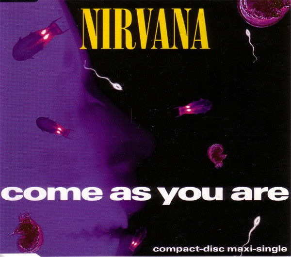 NIRVANA-COME AS YOU ARE CD SINGLE VG