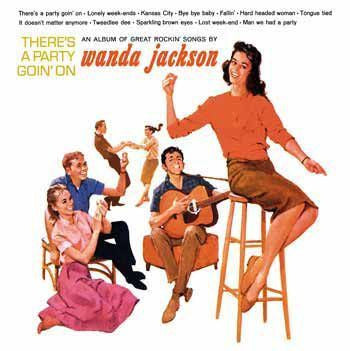 JACKSON WANDA-THERES A PARTY GOIN ON LP *NEW*