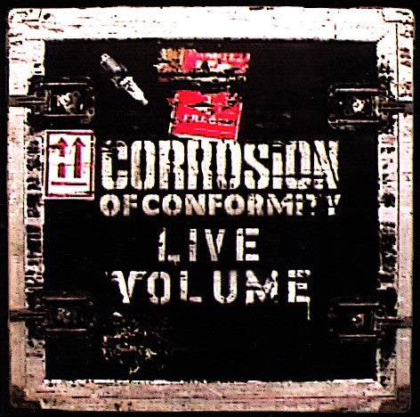 CORROSION OF CONFORMITY-LIVE VOLUME CD VG+