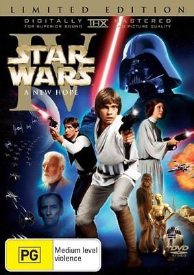 STAR WARS IV:A NEW HOPE 2DVD VG