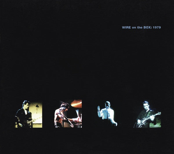 WIRE-ON THE BOX: 1979 CD+DVD VG