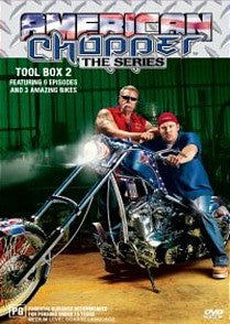 AMERICAN CHOPPER TOOL BOX 2-3DVD BOXSET M