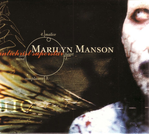 MANSON MARILYN-ANTICHRIST SUPERSTAR CD VG+