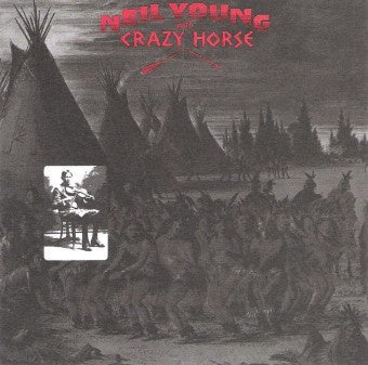 YOUNG NEIL WITH CRAZY HORSE-BROKEN ARROW CD VG