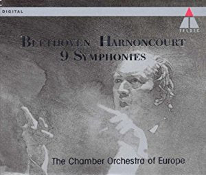 BEETHOVEN-HARNONCOURT 5CD VG+